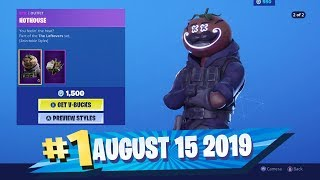 Fortnite Item Shop - *NEW* GUT BOMB & HOTHOUSE SKIN SETS! - August 15 2019 (Fortnite Battle Royale)