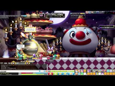 CHAOS PIERRE WITH ANNIHILATION!!! MAPLESTORY!