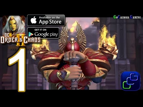 Order and Chaos 2: Redemption Android iOS Walkthrough - Gameplay Part 1 - Mariner's Landing