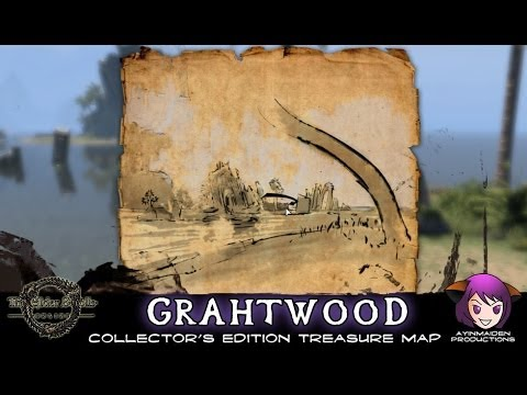 ★ Elder Scrolls Online ★ - Grahtwood CE Treasure Map
