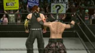 Smackdown vs. Raw 2009: ASH and S.J. Fox Highlights (Create-A-Superstar)