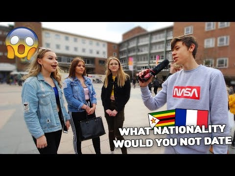 What NATIONALITY Would You NOT Date? in COVENTRY