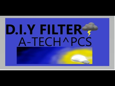 D.I.Y Activated Carbon Filter