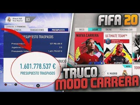 ¿FUNCIONARÁ El TRUCO Para SER MILLONARIO En MODO CARRERA En FIFA 20?😱