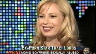 Traci Lords on LARRY KING LIVE July 14, 2003