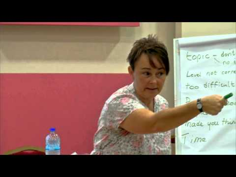 Debbie Candy - Teacher training for English for Palestine