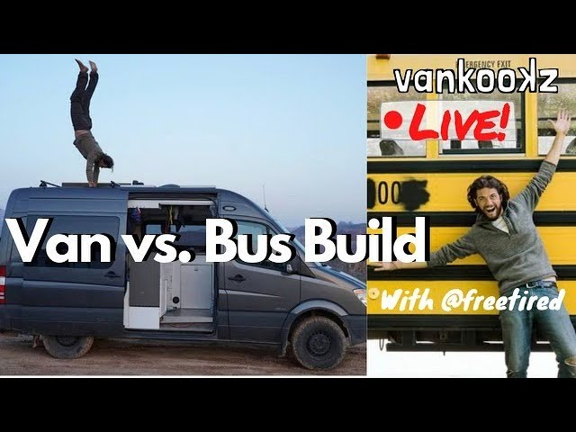 The Engineer That Created the Ultimate van Conversion is back.  This time live with the Vankookz