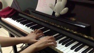 mash up yêu(min-st.319) + sau tất cả (erik-st319) singing & piano cover