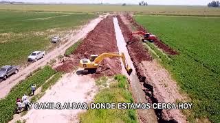 Refuncionalización del canal en la zona de Arias