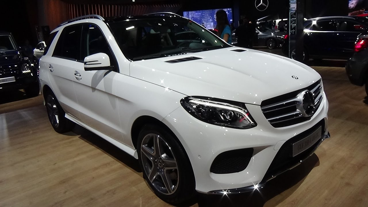 2017 Mercedes Benz Gle 350d 4matic Exterior And Interior Automobile Barcelona