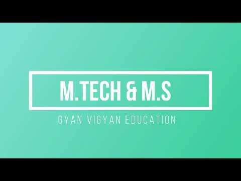 M.Tech Vs. MS || After B.Tech Career guidance || By Rakesh