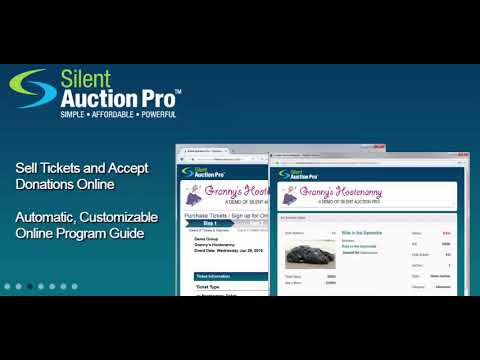 Silent Auction Pro Reviews and Pricing - 2019