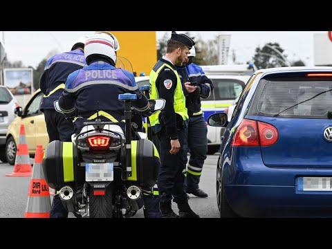 Coronavirus: contrôle renforcés en France contre les départs en vacances