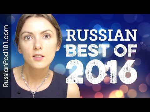 Learn Russian in 40 minutes - The Best of 2016