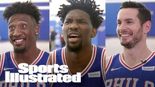 Joel Embiid, 76ers Guess If His Tweets Are Real/Fake: Vampire Diaries? | SI NOW | Sports Illustrated