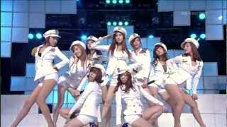 090628 SNSD Tell Me Your Wish Genie Comeback Stage Inkigayo