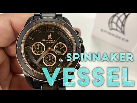 Spinnaker Vessel with Wood and Rose Gold Review (SP-5027-77)