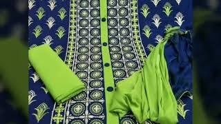 Designer cotton suits for girls //very beautiful and attractive suits