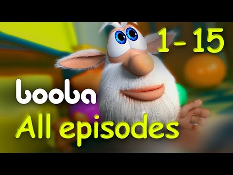 Booba - All Episodes Compilation (15-1) Funny cartoons for kids буба 2017 KEDOO animation for kids