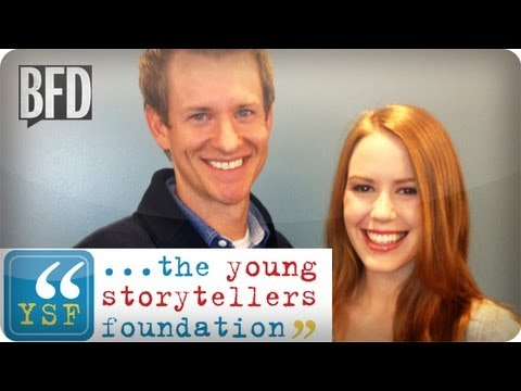 The Young Storytellers Foundation: Interview with Bill Thompson | Brain Food Daily | TakePart TV