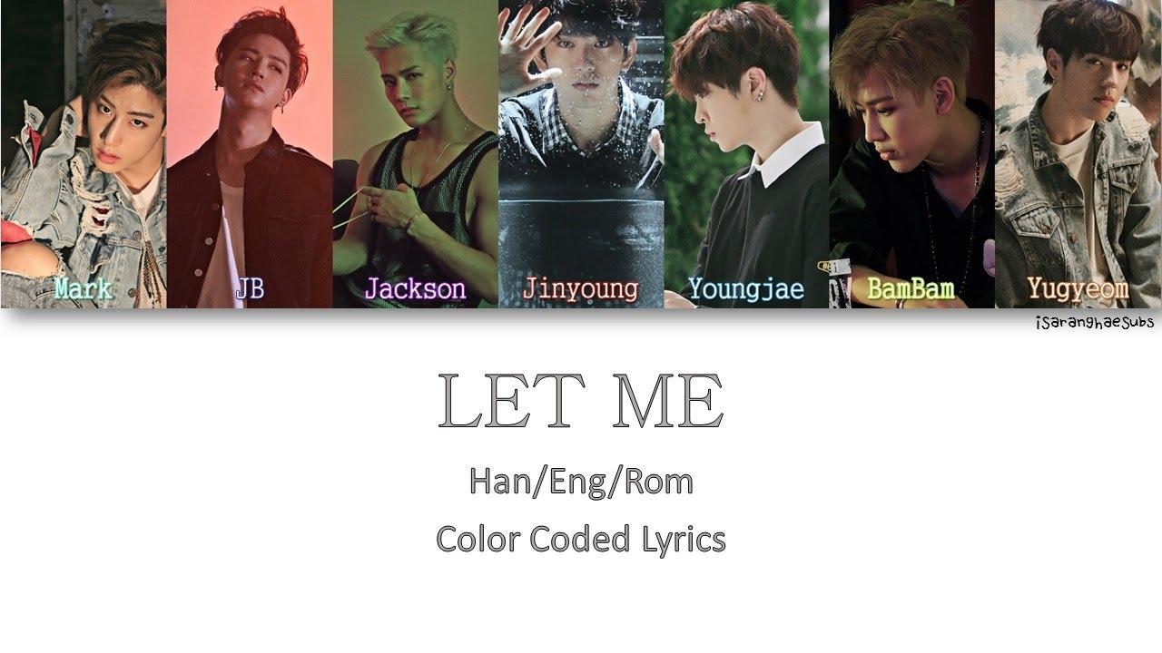 Www Let Me Color Com: GOT7 - LET ME [Color Coded Han