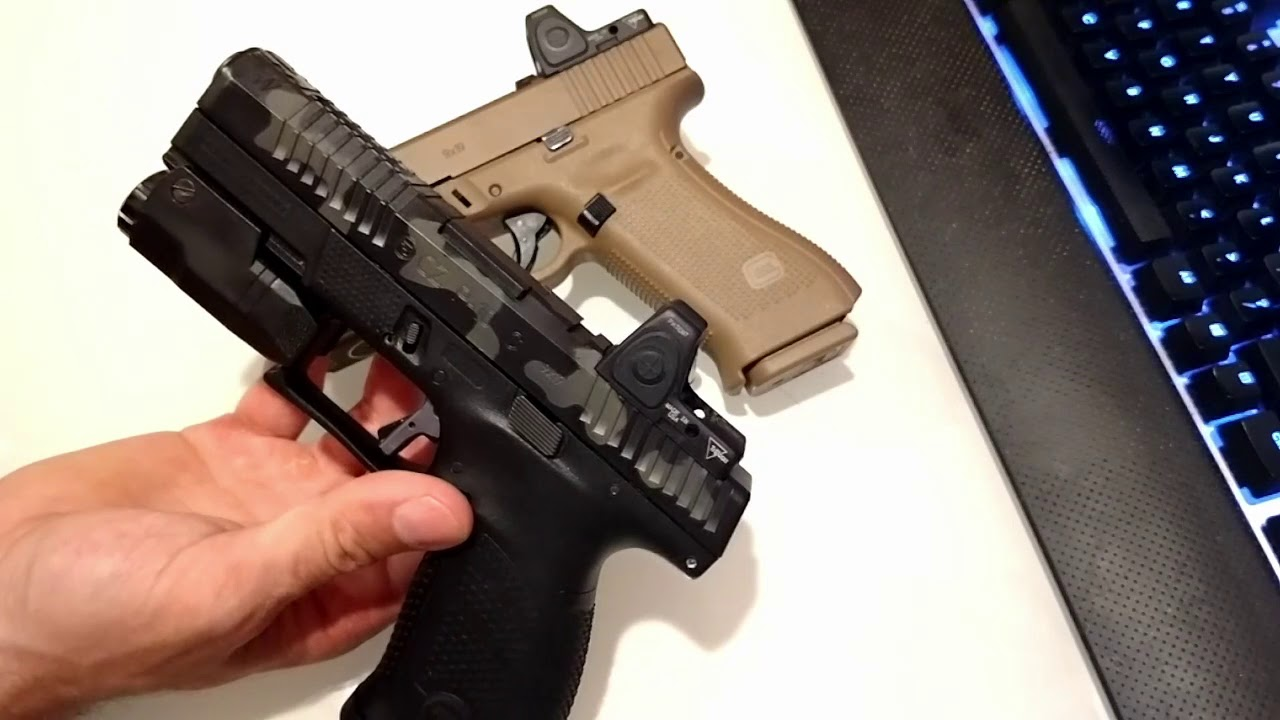JagerWerks Glock and CZ slide milling review