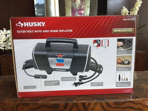 Product Review: Husky's Portable Tire Inflator