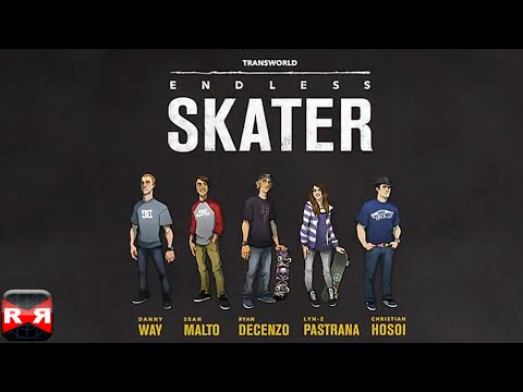 Transworld Endless Skater (By Supervillain Studios) - iOS - iPhone/iPad/iPod Touch Gameplay