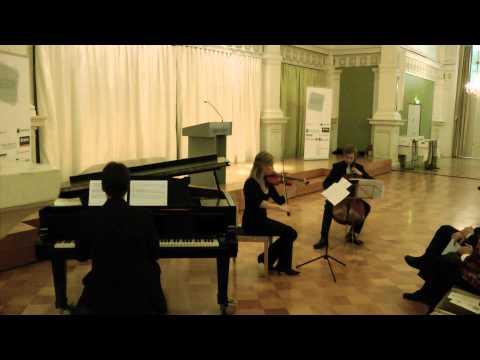 "Eberhard Tzschoppe: Klaviertrio in a ""Allegro energico"""