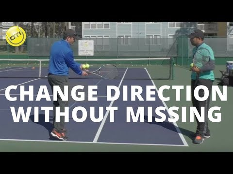 Tennis Tip: How To Change Direction Without Missing