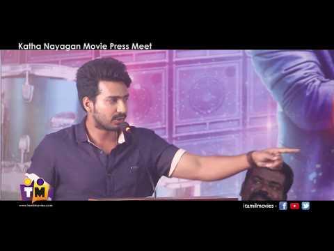 Actor Vishnu Vishal at Kathanayagan Movie Press Meet