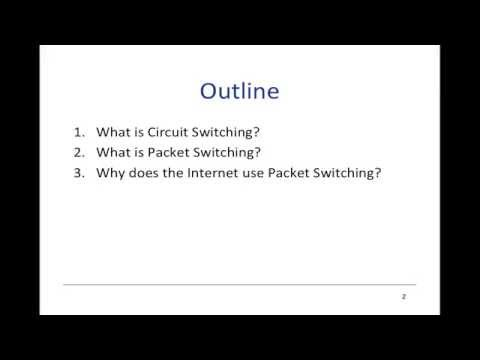 17   Packet Switching   Principles What is packet switching