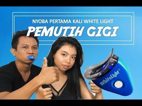 REVIEW PEMUTIH GIGI 40RBAN | WHITE LIGHT TOOTH MAGIC