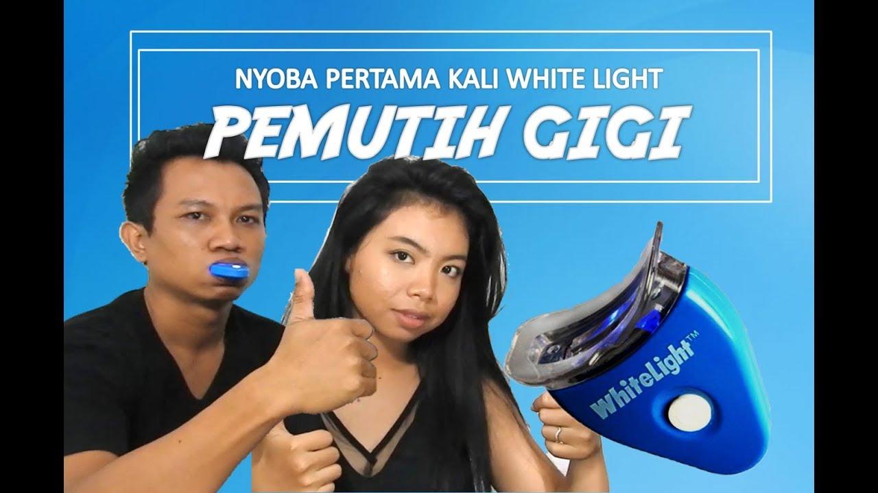 Review Pemutih Gigi 40rban White Light Tooth Magic Youtube
