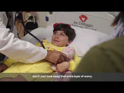 Removing The Worry  - Elia's Cancer Care At Joe DiMaggio Children's Hospital