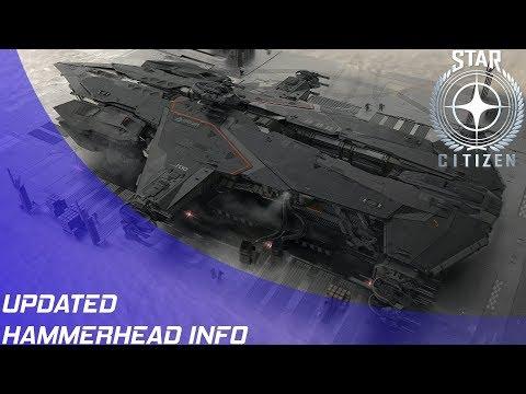Star Citizen: Updated Aegis Hammerhead Information!