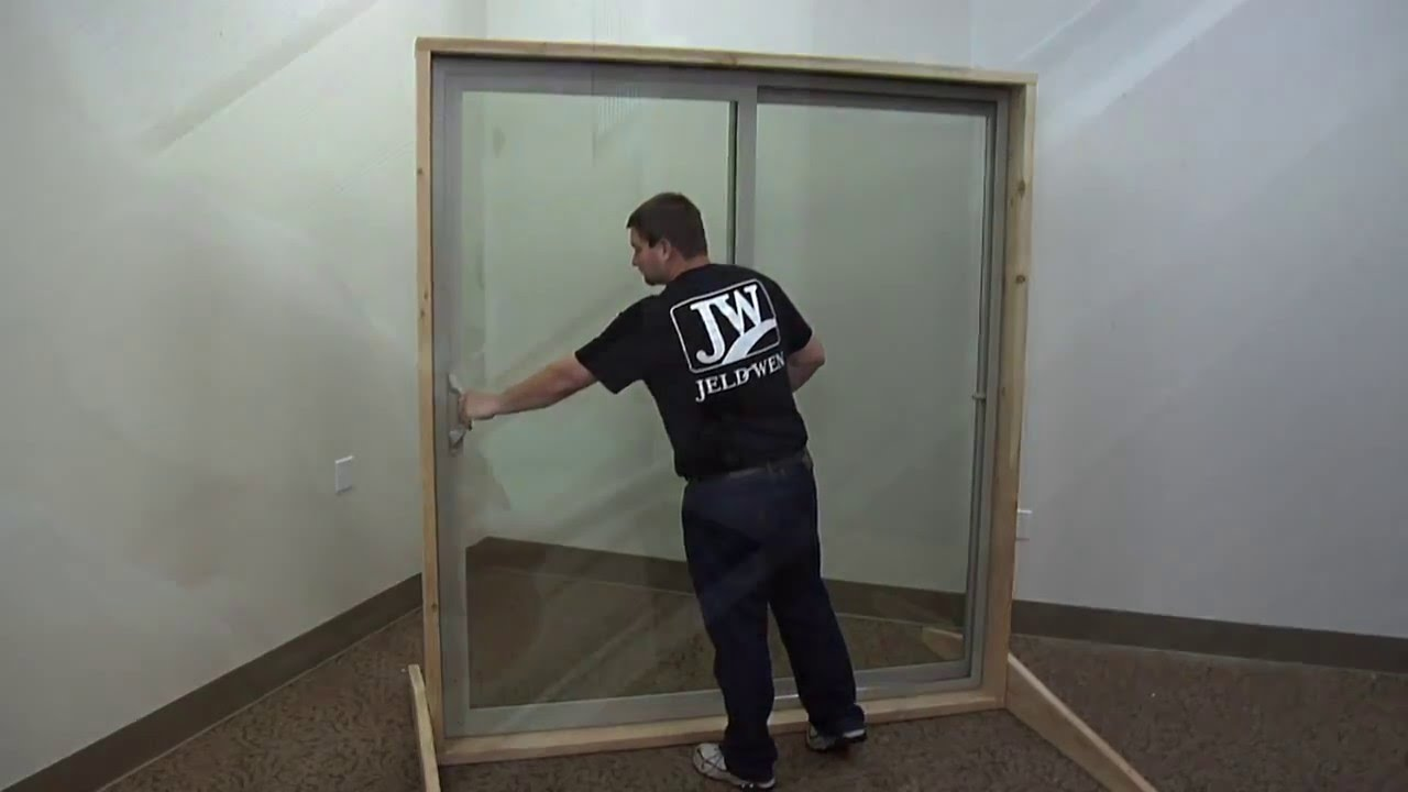 How to Replace the Rollers on a Builders Vinyl Patio Door & How to Replace the Rollers on a Builders Vinyl Patio Door - YouTube