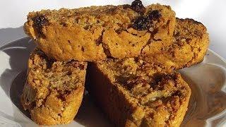 Десерт Печенье «Бискотти» с Изюмом и Орехами кулинарный видео рецепт