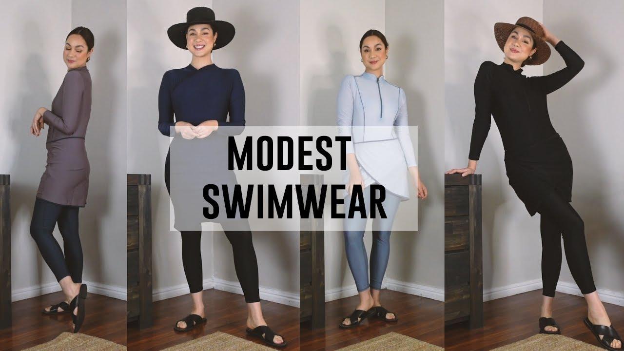 Modest Swimwear Try-On Haul + Wear Test! | Fashion Breed