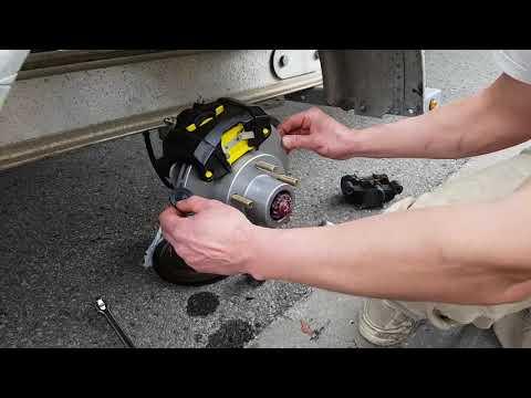 Boat trailer HUBS / ROTORS / BRAKES replacement, Tie Down Engineering
