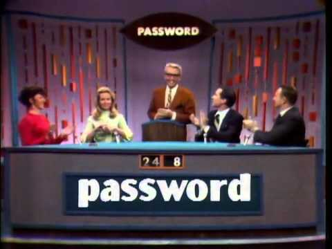 Password  Elizabeth Montgomery & Martin Landau 15 May 1967