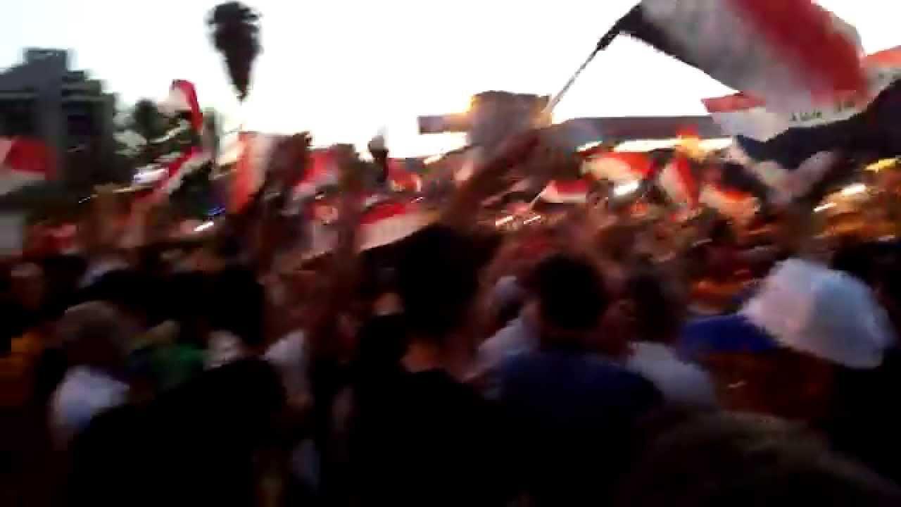 مظاهرات بغداد ساحة التحرير الجمعة 2015/8/21