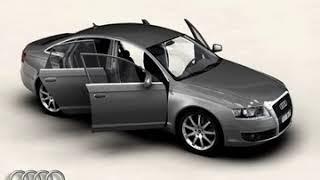 3D Model of Audi A6 Review