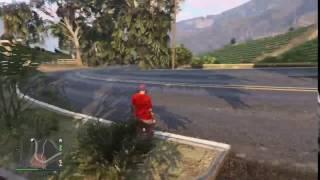 Grand Theft Auto V - NPC trying to do tokyodrift
