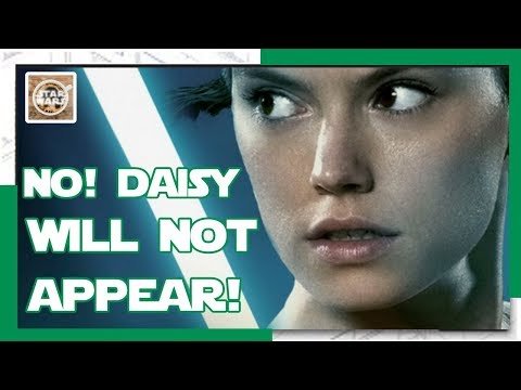 NO! Daisy Ridley WILL NOT Appear In Rian Johnsons Trilogy!