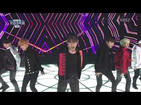 BTS 방탄소년단 Hypest hype + BTS x GOT7 x VIXX KBS 2015 Gayo Daechukjae