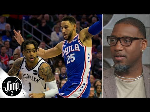 76ers will defeat the Nets in a 'dog fight' of a series - Tracy McGrady | The Jump