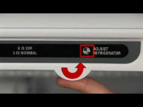 How to Adjust Dual Temperature Refrigerator Controls
