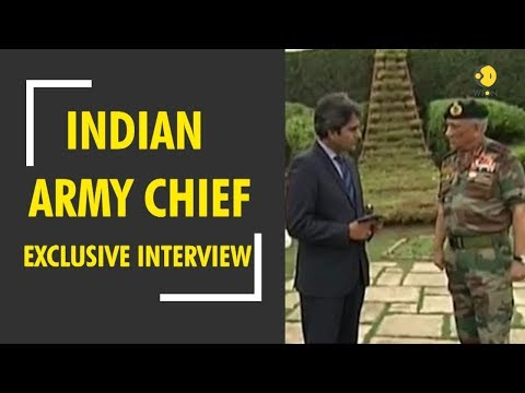 Exclusive interview of Indian Army Chief Bipin Rawat with WION Editor-in-chief Sudhir Chaudhary