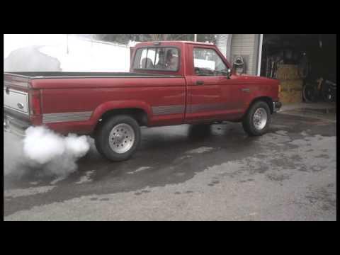 91 Ford Ranger Seafoam Treatment Youtube